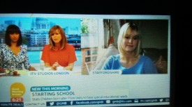 15-Jul-17 Rosie Dutton on ITV GMB
