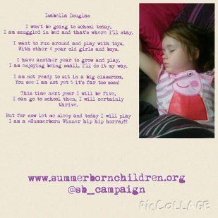 Lauryn Belle poem Sept 2015