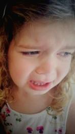 Rachel Burnell - crying photo