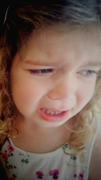 Rachel Burnell - crying photo
